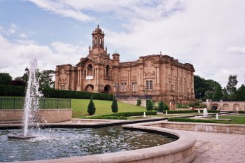 Cartwright Hall in Lister Park, Bradford, West Yorkshire
