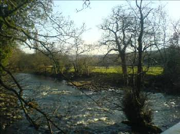 The River Aire Valley near Bingley
