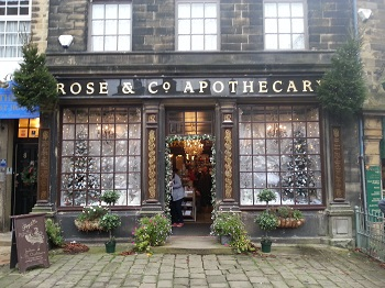 Shops in the bronte country area for A and s salon supplies keighley