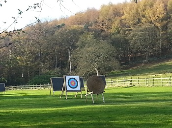 Archery at the St. Ives Estate, near Bingley, West Yorkshire