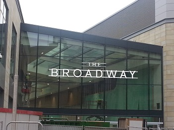 The Bradford Broadway shopping centre
