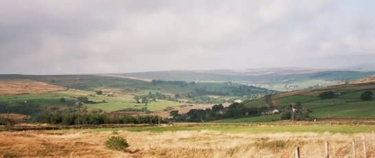 Bronte Country moors near Haworth