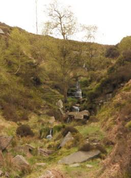 The Bronte Waterfall, near Haworth