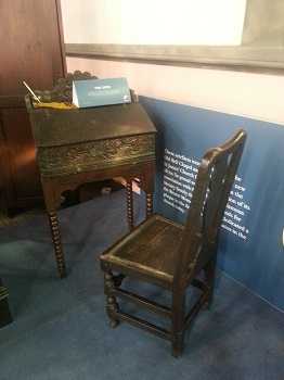 Patrick Bronte's writing desk
