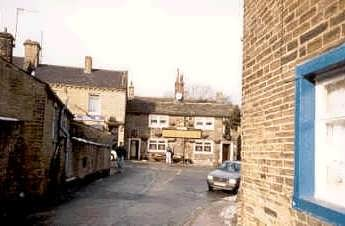 Clayton village, Braford, West Yorkshire