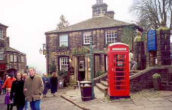 The Black Bull in Haworth, Bronte Country