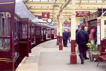 Keighley Station - on the Keighley and Worth Valley Railway