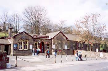 Haworth Station - on the Keighley and Worth Valley Railway