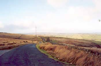 Ovenden Moor, looking towards Oxenhope and Haworth