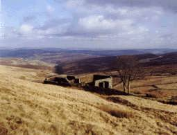 Top Withens, near Haworth in Bronte Country